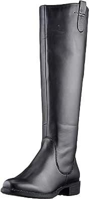 MARCO TOZZI 2-2-25505-25 Leder Langschaftstiefel, Botas a la Altura de Rodilla Mujer