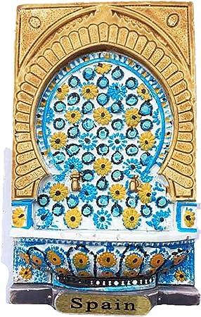MUYU Magnet Palma Mallorca España 3D imán de Nevera Recuerdo Regalo, decoración de hogar y Cocina magnético calcomanía Palma Mallorca España refrigerador imán Collection: Amazon.es: Hogar
