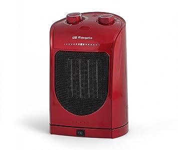 Orbegozo CR 5036 - Calefactor eléctrico cerámico con movimiento oscilante, 1800 W de potencia, 2 posiciones de calor: Amazon.es: Hogar