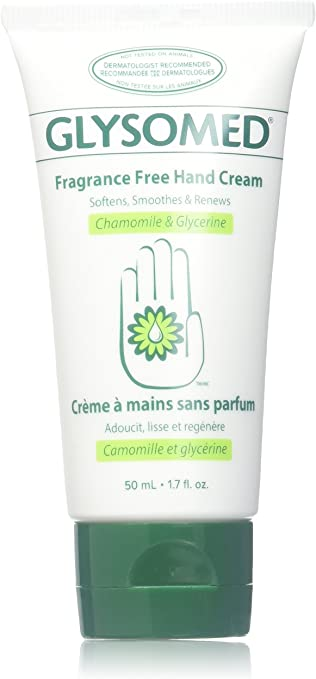 Details about Glysomed Fragrance Free Unscented Hand Cream Pack (3 Mini Travel Size Tube 50mL)