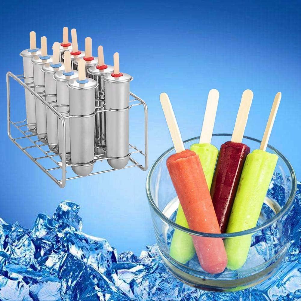 6//10 DIY Obst Innovative EIS Rohrform Haushalt 304 Edelstahl Popsicle Form Set von
