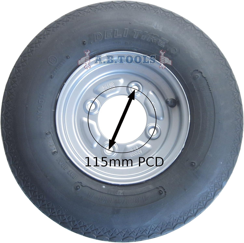 AB Tools 145 R10 Remolque S/ólo neum/áticos 84//82n Radial sin c/ámara 500kg MAX 8 PLY-TRSP23