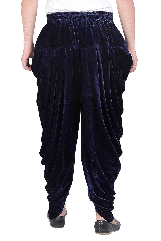 Patiala-Pants-Salwar-fuer-Maenner-Samt-elastischer-Bund-handgefertigt-laessig-Wear Indexbild 12