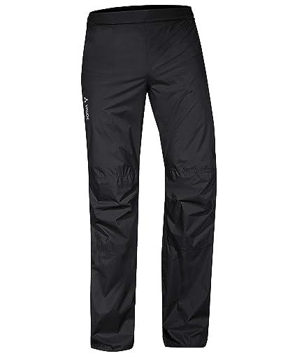 cd8ace2a730 Vaude Herren Rad-Regenhose Drop Pants II Short Size schwarz (200) 27
