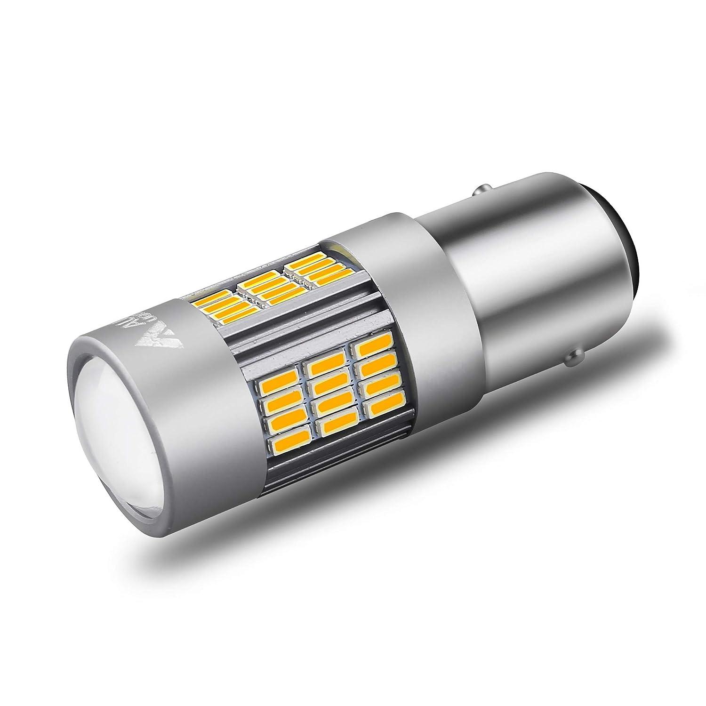 Set of 2 Alla Lighting Super Bright H8 H16 H11 LED Fog Lights Bulbs 4014 54-SMD LED H11 H8 Fog Light Bulb 6000K Xenon White H16 H8 H11 LED Bulbs for Cars Trucks Fog Lights Replacement