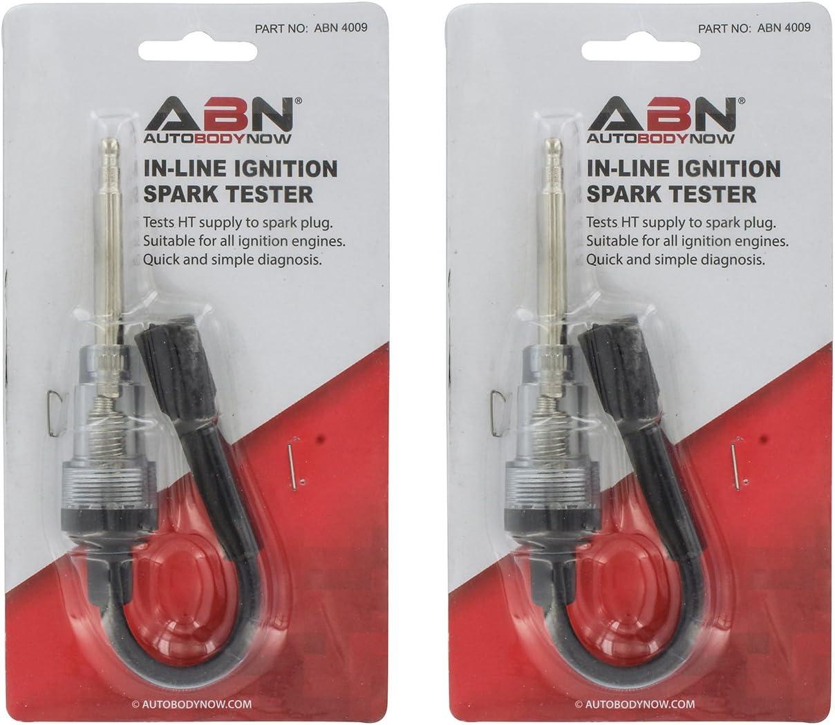 Pack De 4 Auto Moteur Voiture Inline IN LINE Spark Plug Ignition Spark Checker Testeur