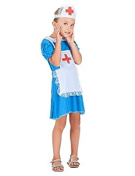 Disfraz de enfermera para niña: Amazon.es: Juguetes y juegos