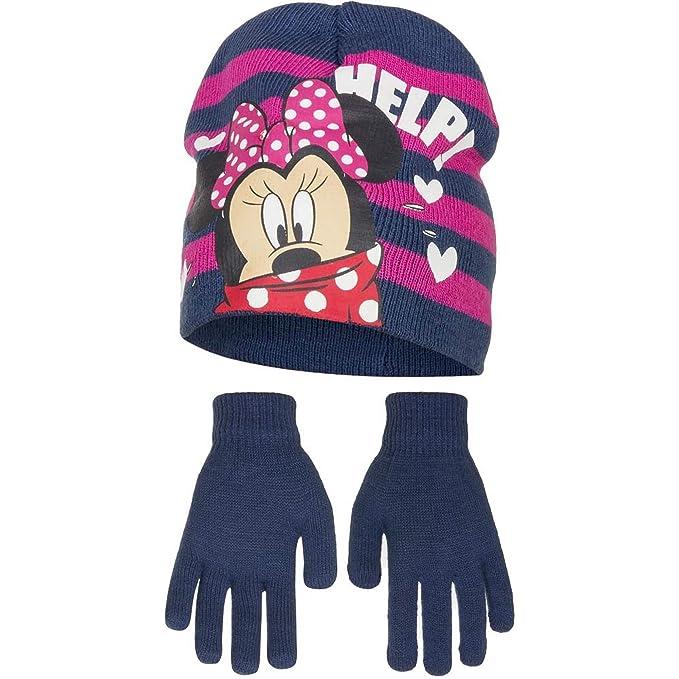Disney Minnie Mouse Childrens Girls Help Winter Hat Gloves Set  Amazon.ca   Clothing   Accessories 7fb47c187031