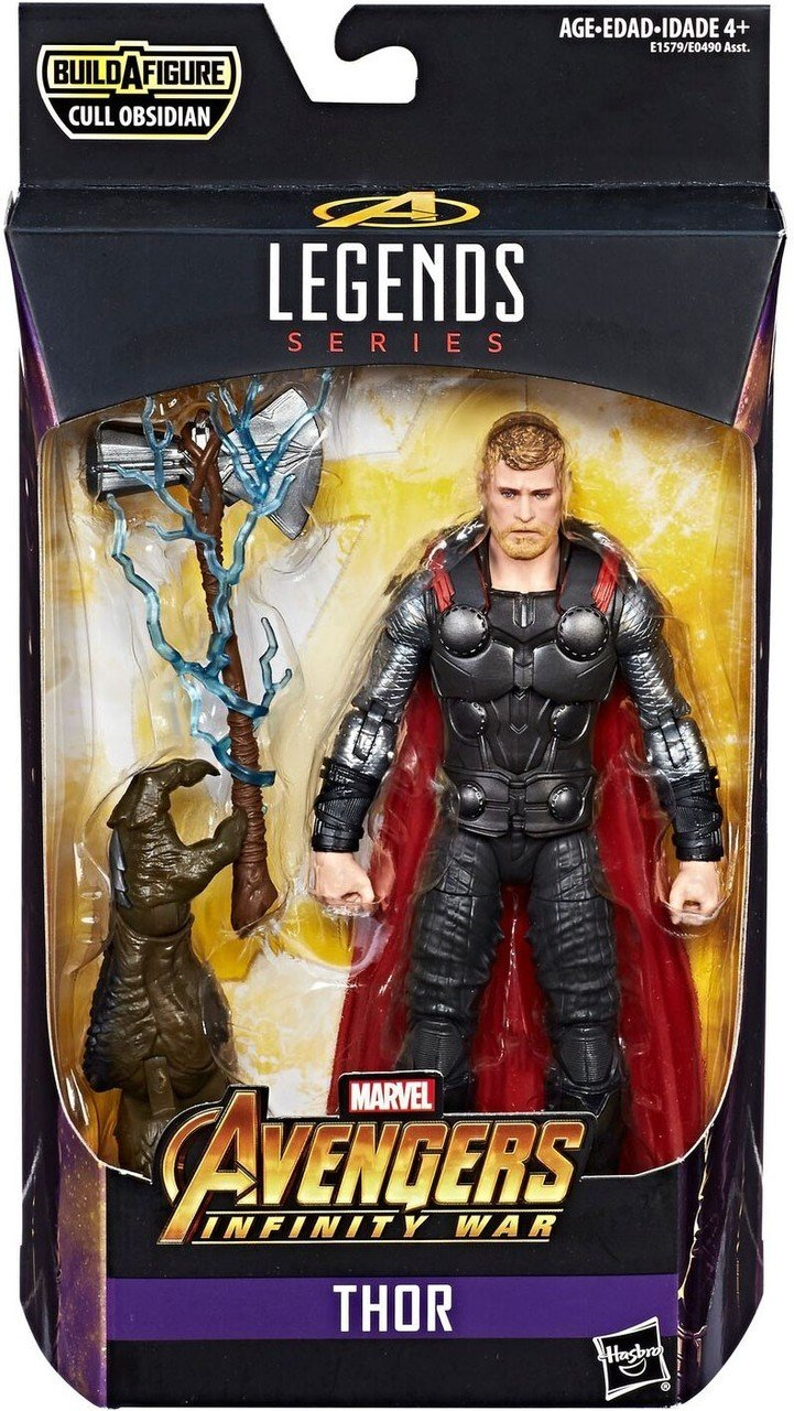 Action Figure Avengers Infinity War Marvel Legends 6-Inch Wave 2 Set HAS