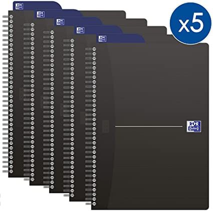 Oxford Office 100102565 - Cuaderno con espirales (tamaño A5, 180 ...