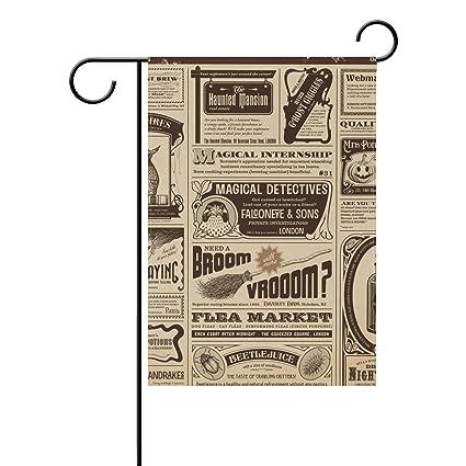 Amazon.com: Chic Houses - Bandera de jardín con diseño de ...