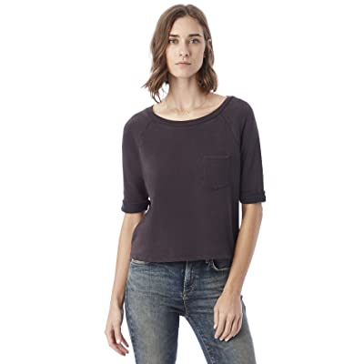 Alternative Women's Light Weight French Terry Your Brother's Pullover at Women's Clothing store