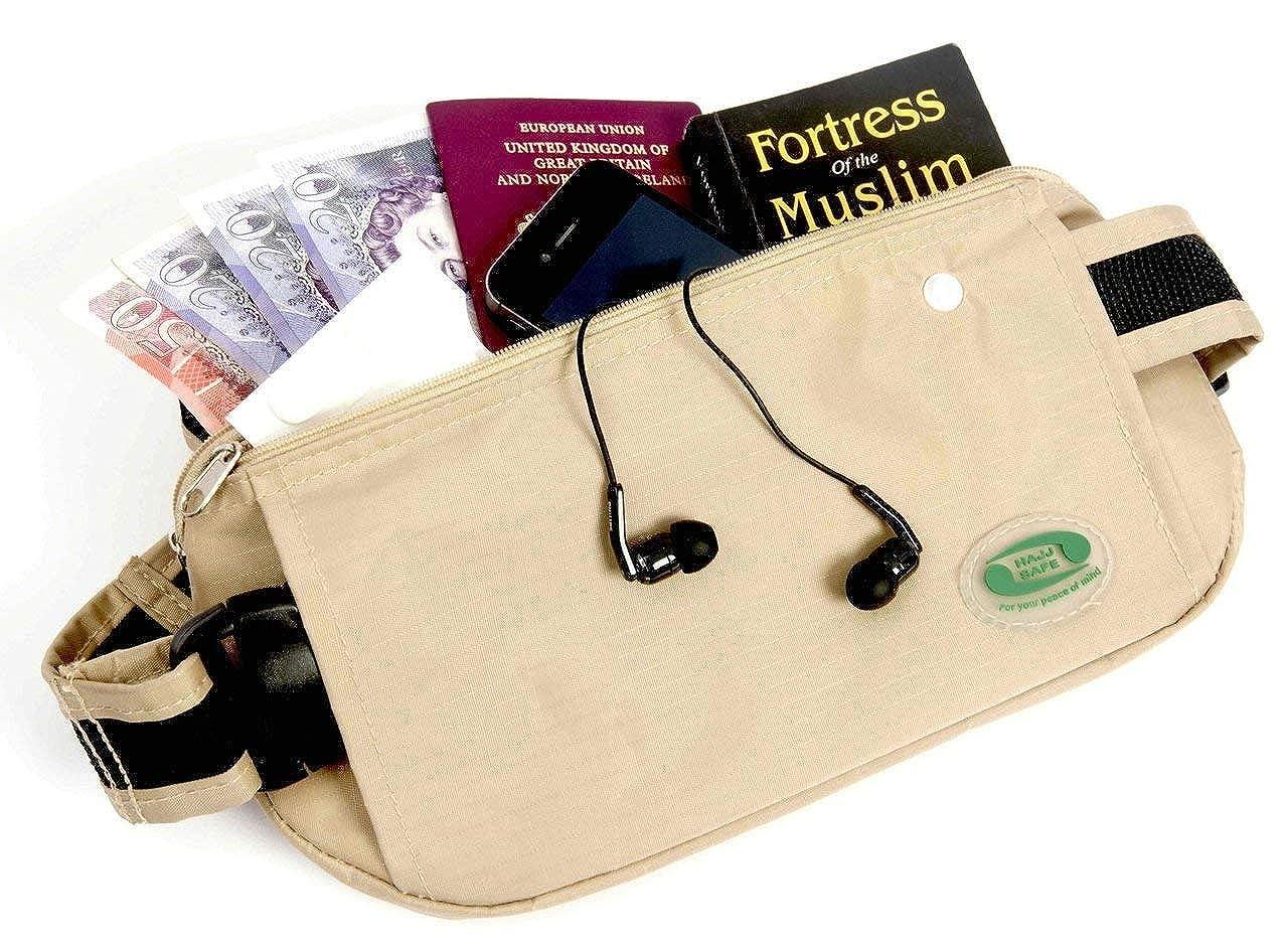 Amazon.com: Hayy Hayy umrah Antirrobo Segura de viajar bolsa ...