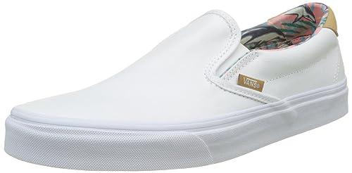 Vans UA Slipon 59 Scarpe da Ginnastica Basse Uomo Bianco C and L 40.5