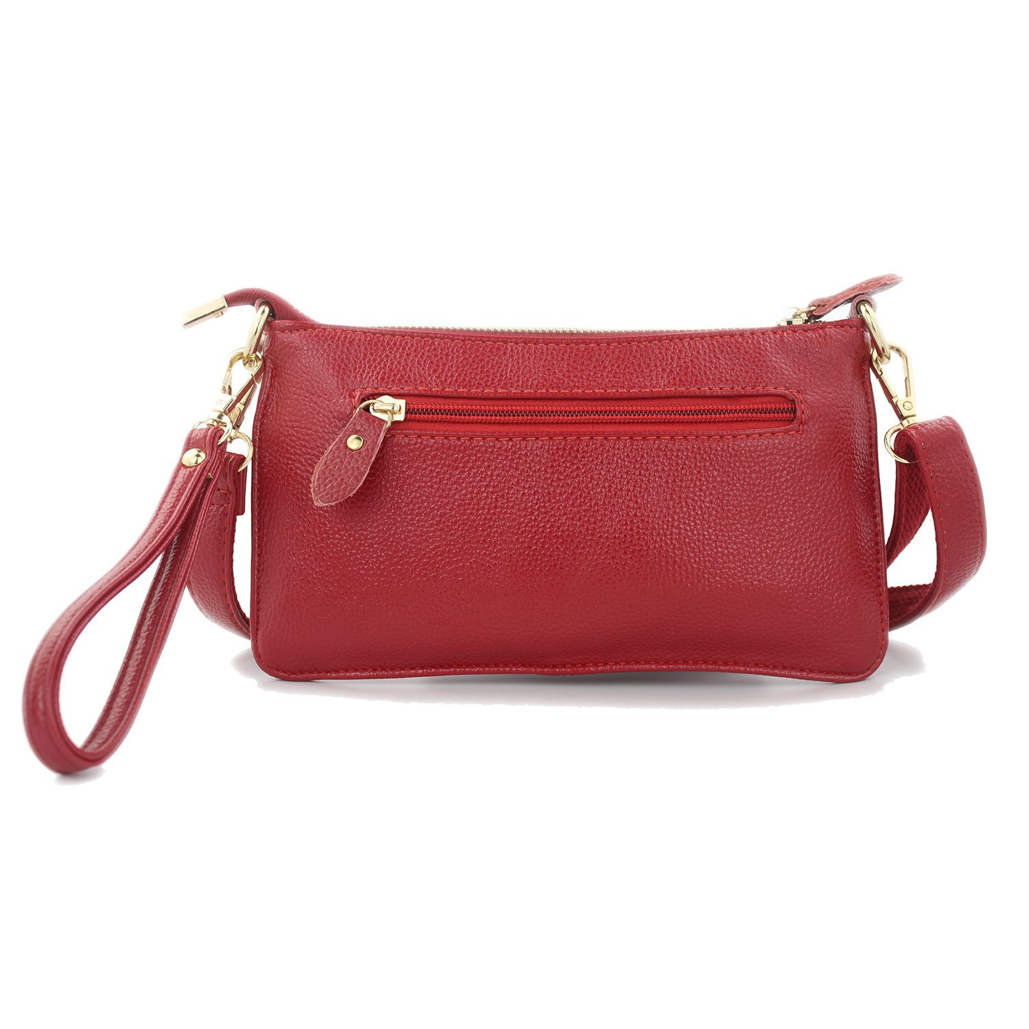 Retro Women Bags for Women 2018 Purses and Handbags Women Leather Handbags Crossbody Bags for Women Evening Clutch Bags Ladies Hand Bags Shoulder Women Messenger Bags (Wire Red)
