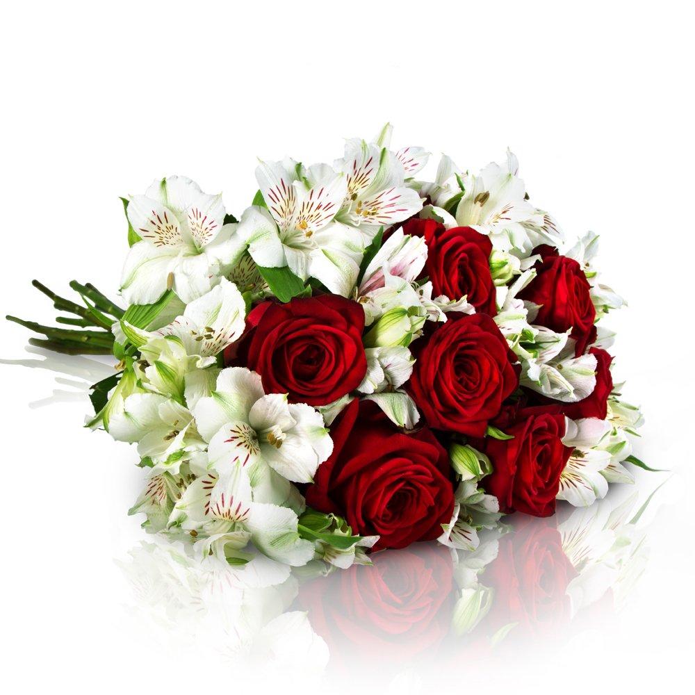 MIFLORA Blumenstrauß Romantischer Bote   Entworfen von der Europameisterin