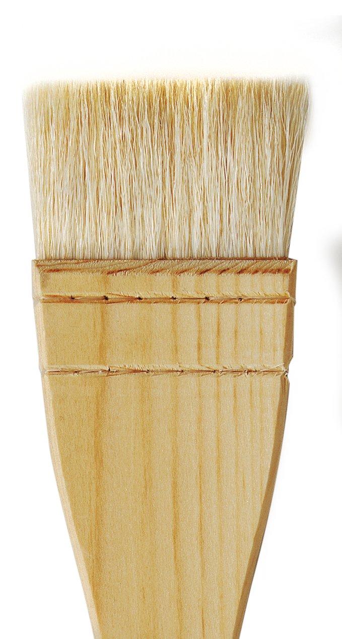 Size 6 da Vinci Varnish /& Priming Series 11245 Professional Hake Brush 11245-6 White Goat Hair with Plainwood Handle
