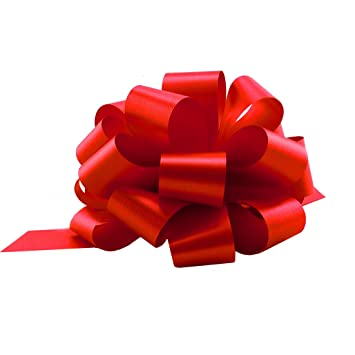 Christmas Gift.Red Christmas Gift Pull Bows 5 Wide Set Of 10 Christmas Valentine S Day Bows For Gifts Presents Birthday Mother S Day Decorations
