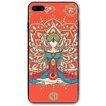 ZZHOO Compatible with iPhone 7/8 Plus Case, Yoga Technique ...