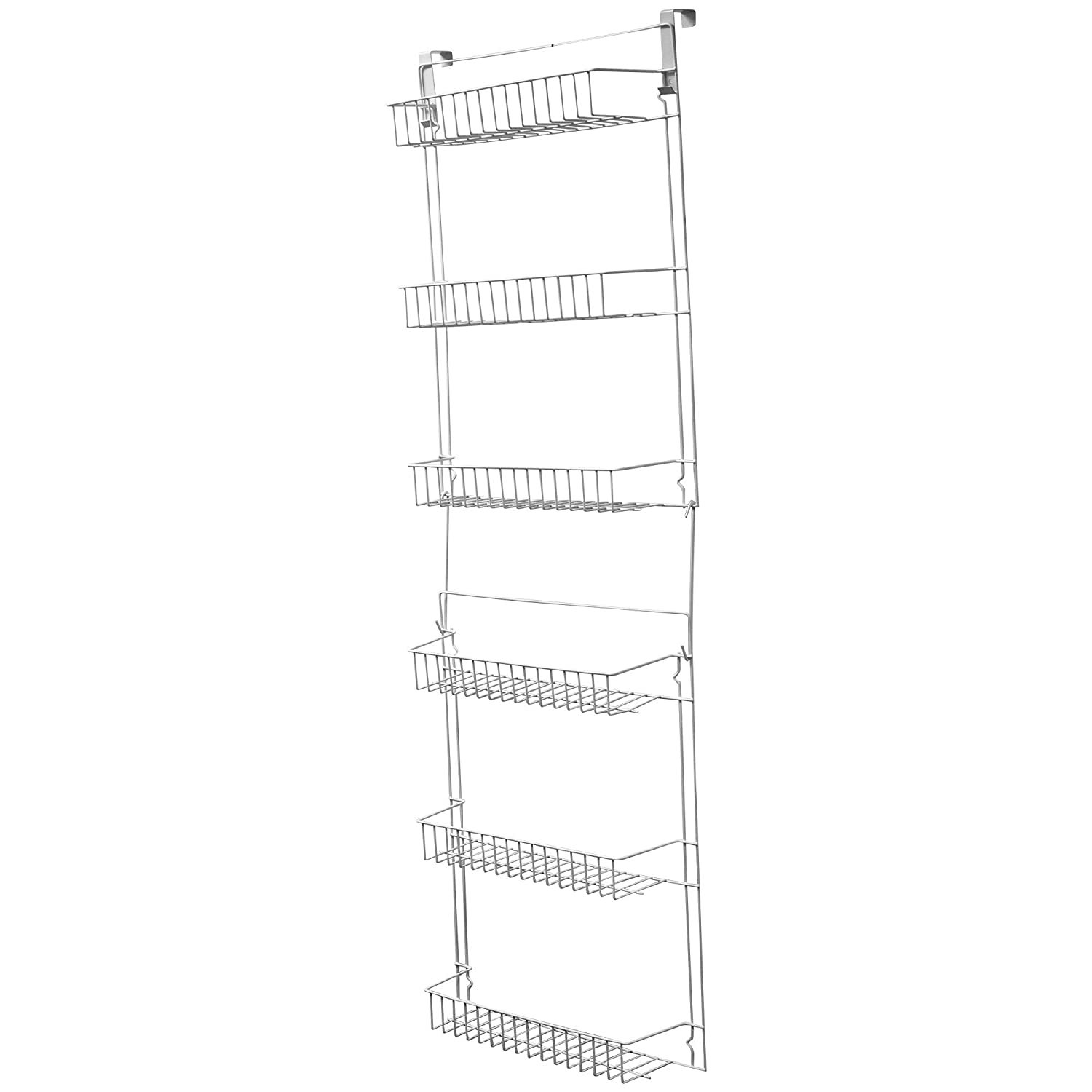 Delicieux Amazon.com: Lavish Home Closet Organizer With 6 Shelves, Over The Door  Pantry Organizer And Bathroom Organizer By: Home U0026 Kitchen