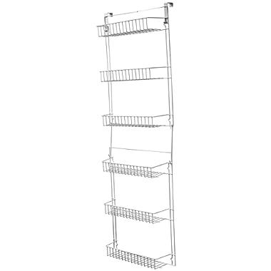 Lavish Home Closet Organizer with 6 Shelves, Over the Door Pantry Organizer and Bathroom Organizer by Lavish Home