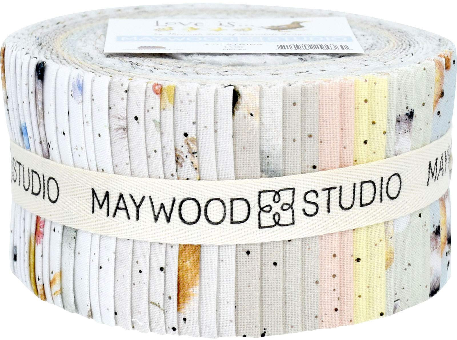 Hannah Dale Love is... Strips 40 2.5-inch Strips Jelly Roll Maywood Studio