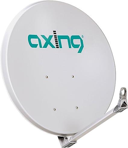 Axing SAA 110-01 aluminio antena parabolica de satélite ...