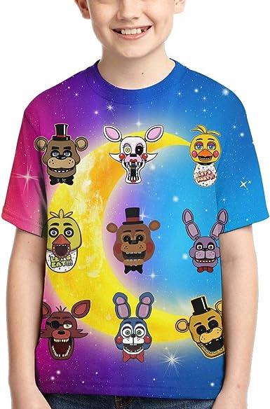 GIPHOJO Boys Girls T Shirt Teenager Tops Children Youth Shirts Tees Kid Shirts