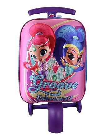Amazon.com: ATM Shimmer and Shine Scootie - Maleta para niño ...