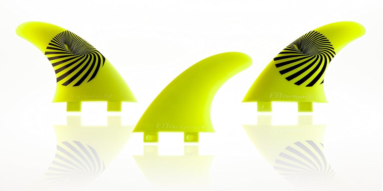 QUILLA Surf FCS Compatible Tri-Set A2 Composite 50% Fibra DE Vidrio. Sistema Fusion Equivalente AM2. Talla M: Amazon.es: Deportes y aire libre