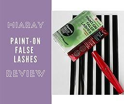 Miaray Paint On False Lashes Reviews