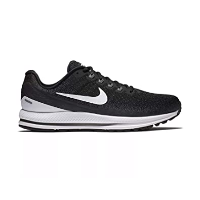 c21a7862184ef Nike Men s Air Zoom Vomero 13 Running Shoe Wide (2E) Black White-Anthracite  10.0  Buy Online at Low Prices in India - Amazon.in