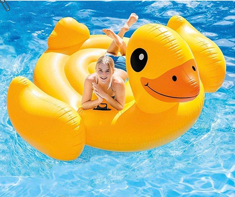 ... pavo real del cisne del flamenco del conducto del flamenco, juguete inflable del flotador con las válvulas rápidas Para niños adultos Natación (Pato): ...