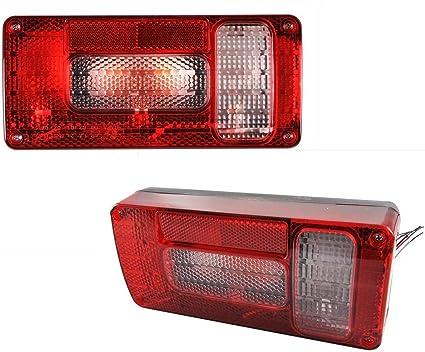 6 Funktions Rücklicht Anhänger Rückleuchten Rücklicht Mit Reflektor E Prüfzeichen Rechts Auto