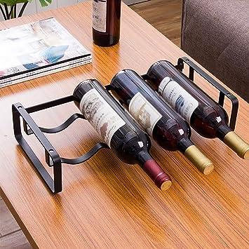 Wine rack Hogar, Bar, Hotel Ktv, Portavasos, Portavasos, Decoración, Accesorios para el hogar,Un Conjunto de 3: Amazon.es: Deportes y aire libre