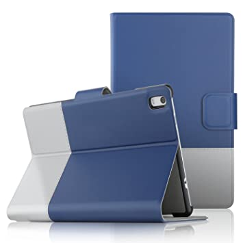 best service 9934a caf36 IVSO Lenovo Tab 4 8 PLUS Case Slim-Book Stand Cover Case for Lenovo ...