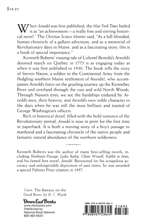 Arundel: Kenneth Roberts, N C Wyeth: 9780892723645: Amazon: Books