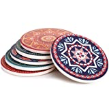 """Amazon Price History for:Lifver 6-Piece Absorbent Stone Coaster set, """"drink"""" spills coasters, Mandala Style"""