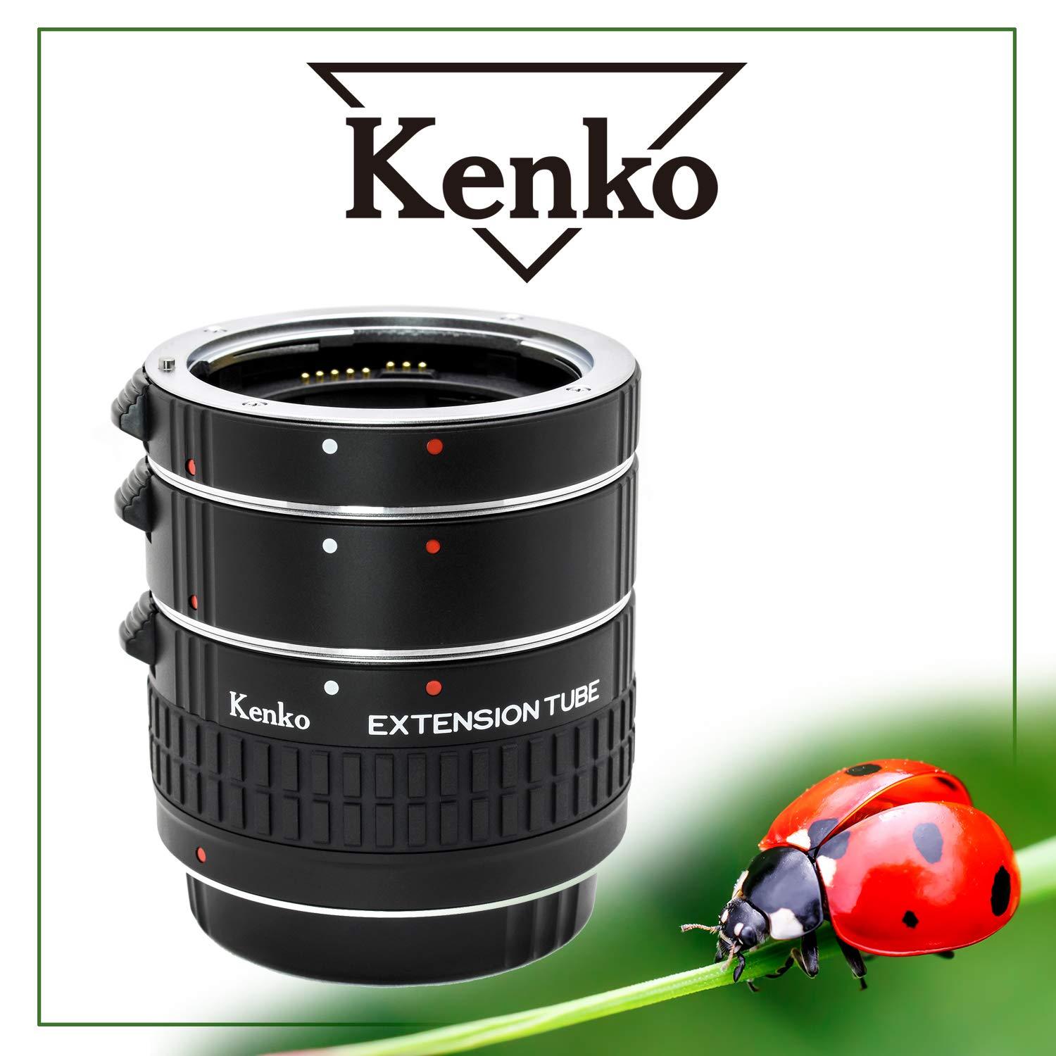 Kenko Auto Extension Tube Set DG for Canon EOS Lenses A-EXTUBEDG-C by Kenko