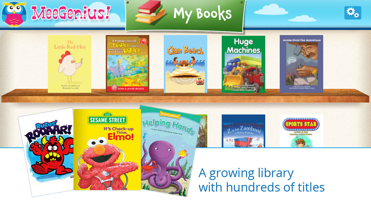 Amazon.com: MeeGenius - Read Along Library of Children's Books: Appstore for Android