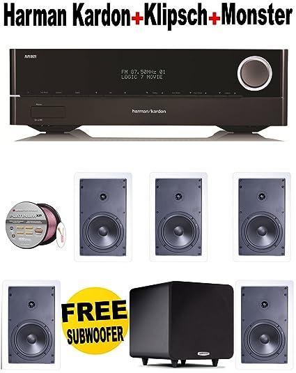 Amazon com: Harman Kardon AVR 1710 7 2-Channel 100-Watt