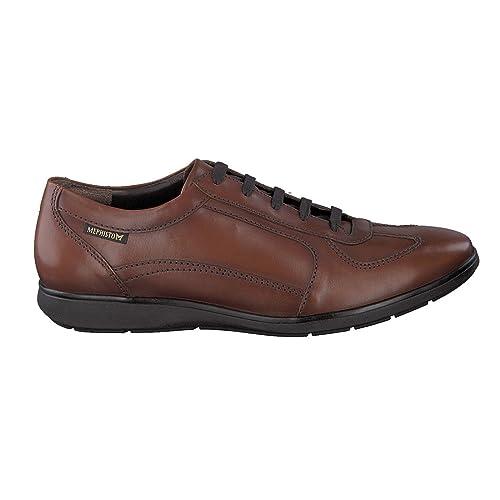 Mephisto Leonzio 17878 Chestnut - Zapatos de cordones para hombre, color marrón, talla 41.5 EU