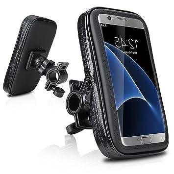 DaoRier Agua Densidad Bicicleta Moto Bike Carcasa ABS universal Soporte Bicicleta Manillar Soporte para teléfono móvil impermeable para iPhone 5 5 C ...