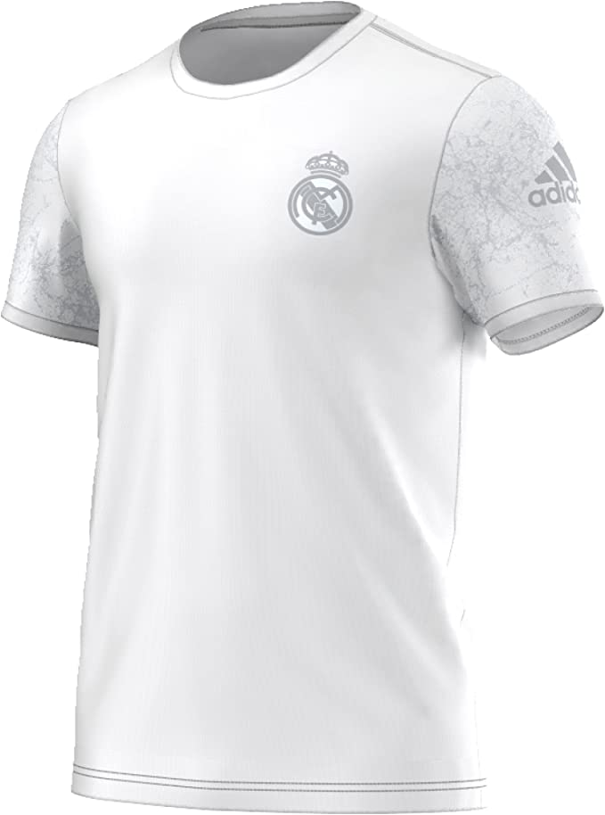 adidas Real Madrid St tee Camiseta de Manga Corta, Hombre: Amazon ...