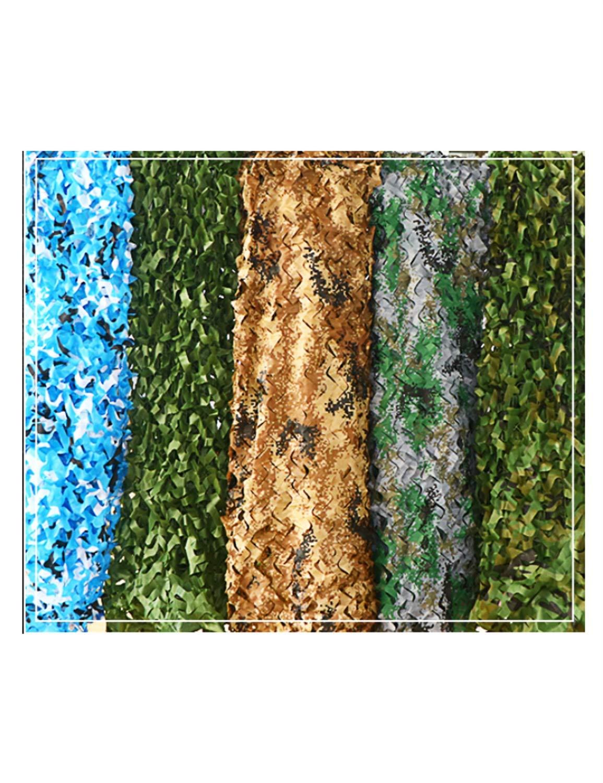迷彩ネット - 山グリーン緑の装飾日焼け止めネット、狩猟撮影キャンプ隠し、ジャングルの海の砂漠様々なサイズ (サイズ さいず : 10*20m) B07MHDSNXM  10*20m