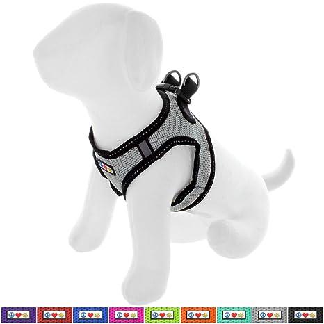 Pawtitas Arnés de Tela Antitirones Perro y Cachorros, Chaleco Acolchado para Mayor Comodidad, diseño. Pasa ...