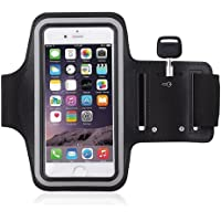 BuyBox Sports Armband Cover Holder (Black)