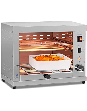 Royal Catering RCET-360 Horno Tostador Hornillo eléctrico Salamandra Cocina (3.250 W, 230