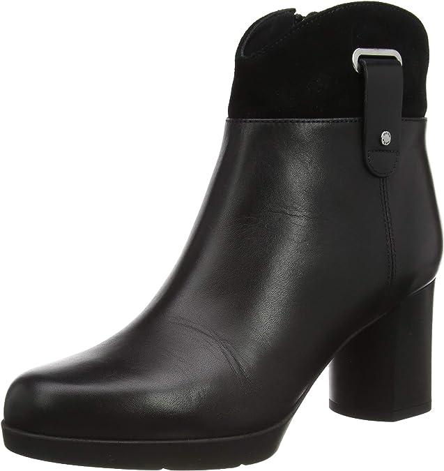 TALLA 41 EU. Geox D Anylla Mid E, Fashion Boot Mujer