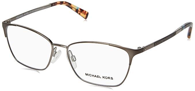 f6f9a00fa78 Amazon.com  Michael Kors VERBIER MK3001 Eyeglass Frames 1025-52 ...